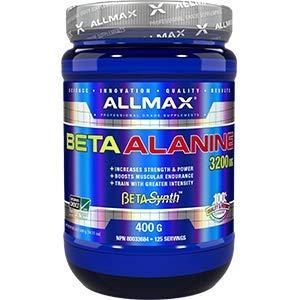 ALLMAX Nutrition Beta-Alanine 3200 mg, 400g