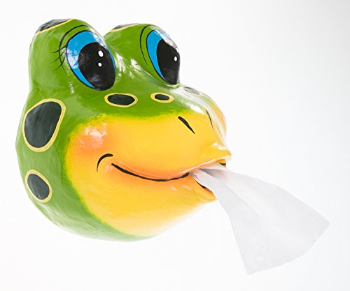 Toilet paper Frog wildlife zoo Holder Tissue
