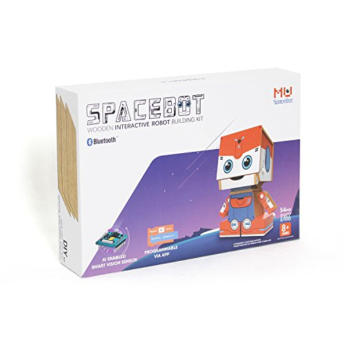 DIY Interactive Robot Building Kit with Face Detection and Visual Programmable Interface | Kid's first comprehensive lesson of robotics and Artificial Intelligence