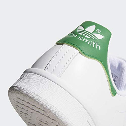 adidas Originals Women's Stan Smith Sneaker, Footwear WhiteGreen, 8.5