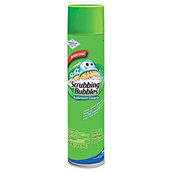Scrubbing Bubbles 94308 Bathroom Cleaner 25 Oz Aerosol Pack Of 12 Industrial