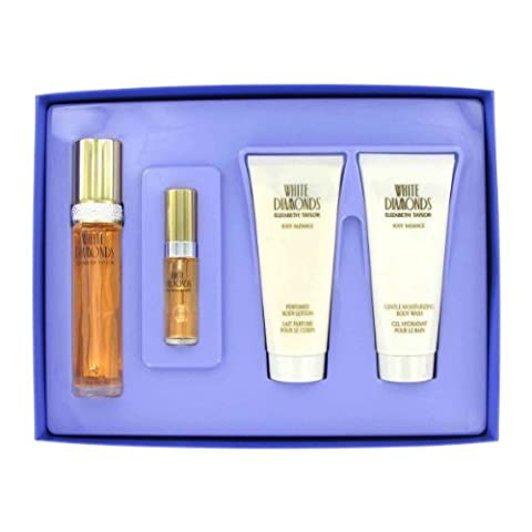 Elizabeth Taylor - Gift Set -- 1.7 oz Eau De Toilette Spray +3.4 oz Body Lotion +3.4 oz Shower Gel +.33 - Elizabeth Taylor Rose Body Lotion