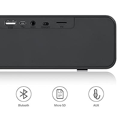 Bluetooth Speakers,NUOXI K116 Wireless Portable V4.0 Indoor & Outdoor Speaker,Built-in Mic, Dual-Driver with HD Sound and Bass,Two Passive Subwoofers for Smartphones Computers