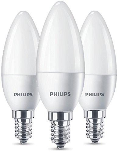 Philips LED Lampe ersetzt 40W, EEK A+, E14, warmweiß (2700 Kelvin ...
