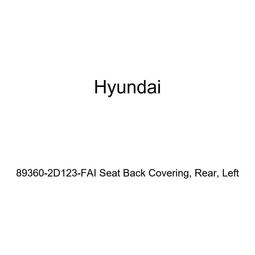 Left Rear Genuine Hyundai 89360-2D123-FAI Seat Back Covering