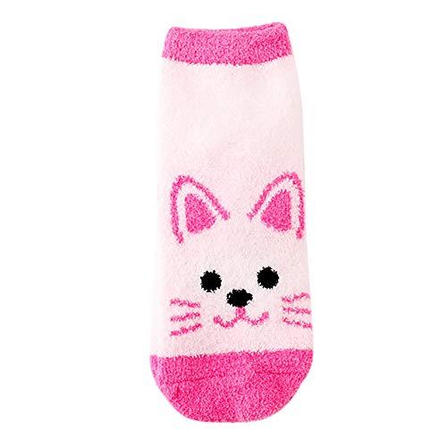 Clearance Women Lady Casual Cute Cat Footprints Thickness Cartoon Sock Christmas Stockings Duseedik