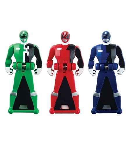 Power Rangers Super Megaforce - SPD Legendary Ranger Key Pack, Red/Blue/Green