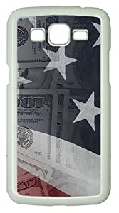 American Money Polycarbonate Hard Case Cover for Samsung Galaxy Grand 2 7106 ¡§C White