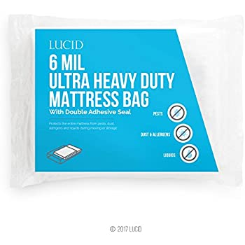 Amazon Com Queen Mattress Bag Cover For Moving Or Storage