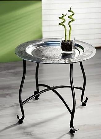 Beistelltisch Orient Metall Tablett 40cm Tee Tisch Klapptisch Couchtisch