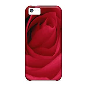 Premium Rose Flower Wallpaper Free 80 Heavy-duty Protection Case For Iphone 5c