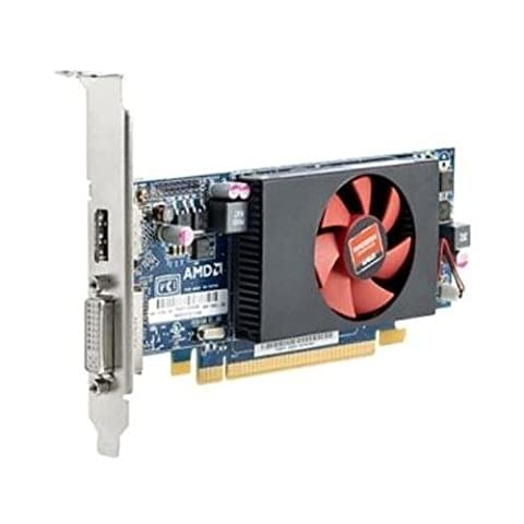 HP E1C64AT Radeon HD8490 1GB DDR3 PCIE3.0 Video Card DVI/DisplayPort Low-Profile (Amd Radeon 8490)