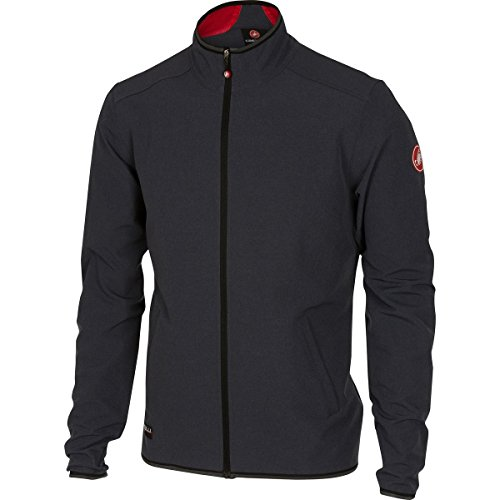 Castelli Race Day Track Jacket - Men's Anthracite, L
