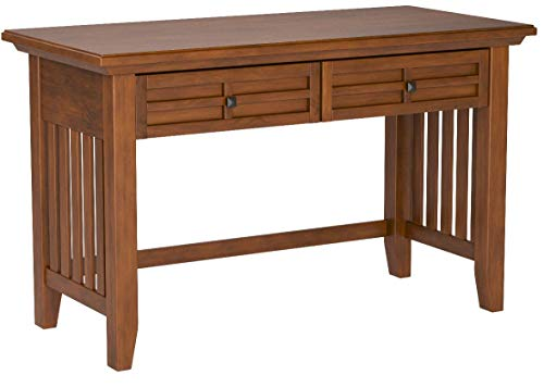 Home Styles 5180-16 Arts and Crafts Student Desk, Cottage Oak Finish