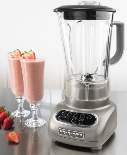 amazon com kitchenaid refurbished 5 speed blender cocoa silver