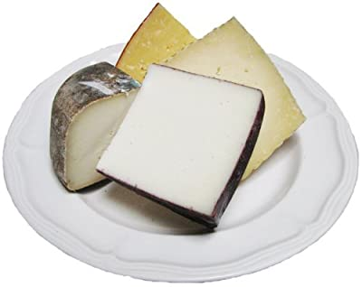 Spanish Cheese Assortment 2 Pound Hand Cut Imported from Spain
