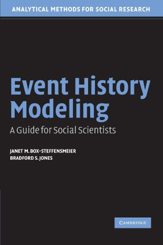 Event History Modeling: A Guide for Social Scientists (Analytical Methods for Social Research)