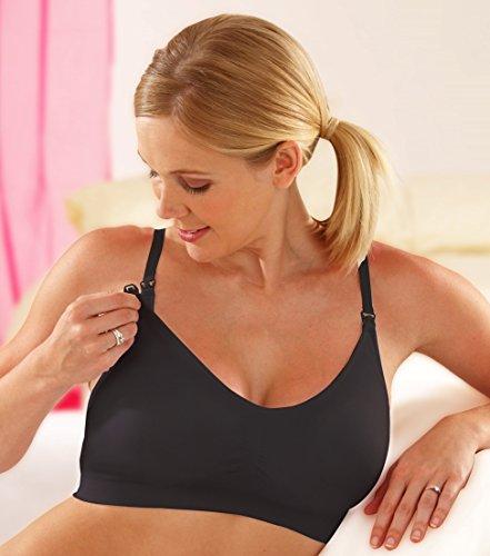 Emma-Jane - Sujetador premamá y de lactancia - para mujer negro