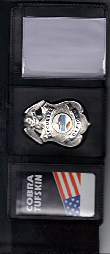Tri-Fold Badge Holder, Money Section, Badge Area & Credit Cards by Hero's Pride