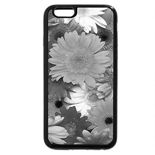 iPhone 6S Case, iPhone 6 Case (Black & White) - Flowers in Beautiful Colors
