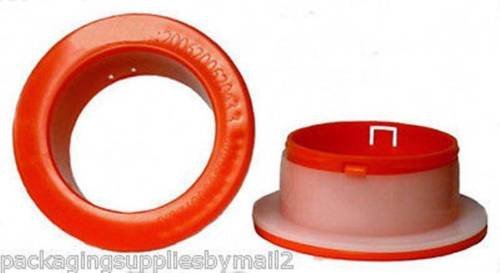 5 Pairs Hand Saver Stretch Wrap Film Plastic Red Color Dispenser