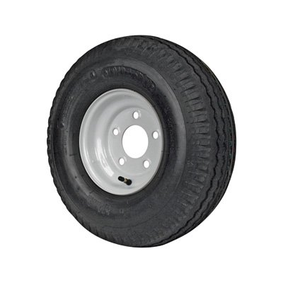 5-Hole High Speed Standard Rim Design Trailer Tire Assembly - 18.5in. x 5.70 x ()