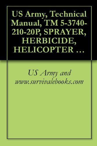 US Army, Technical Manual, TM 5-3740-210-20P, SPRAYER, HERBICIDE, HELICOPTER MTD (AGRICULTURAL AVIATION ENG., MODEL 3090) (FSN 3740-131-4599); SPRAYER, ... HELICOPTER (MODEL 3090) (3740-999-2405) (Eng 131)