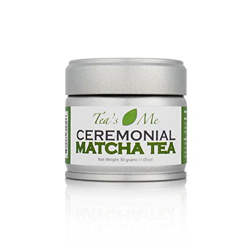 Organic Japanese Ceremonial Matcha Green Tea Powder- 30 Grams