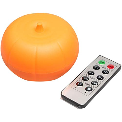Bright LED Pumpkin Lights with Remote and Timer,2.5
