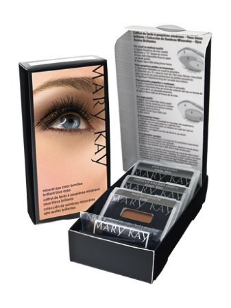 - Mary Kay Mineral Eye Color Bundles~BRILLIANT BLUES