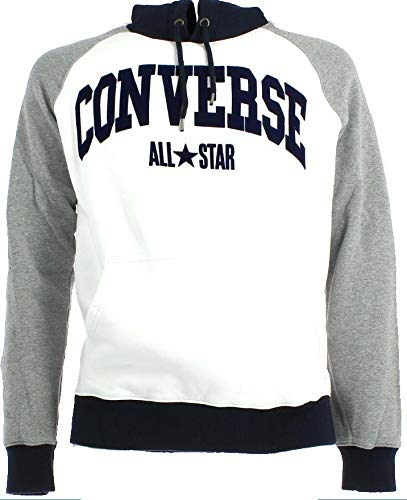 Converse - Sudadera con Capucha - para Hombre Gris XL: Amazon.es: Ropa y accesorios
