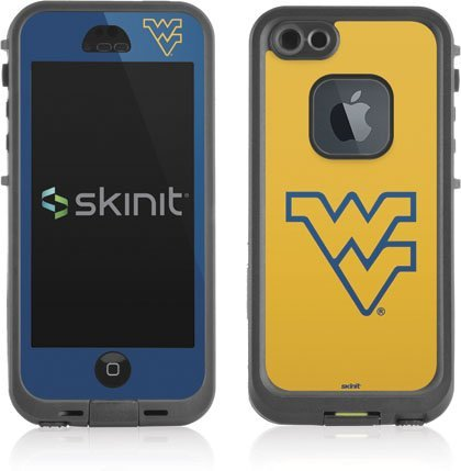 West Virginia University - WVU - skin for Lifeproof fre iPhone 5/5s Case (Stores In West Virginia)