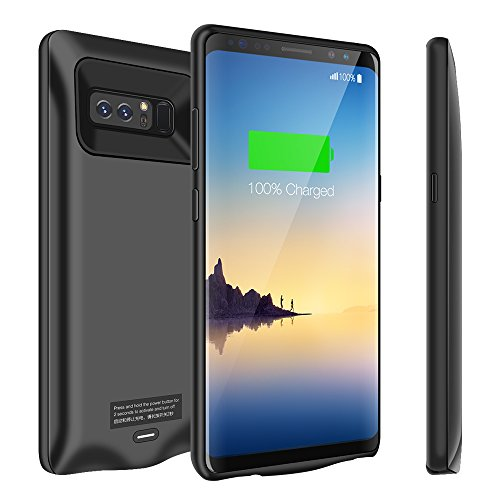 Cheap Charger Cases Galaxy Note 8 Battery Case, 5500mAh Slim Extend Battery Pack Charger Case,..