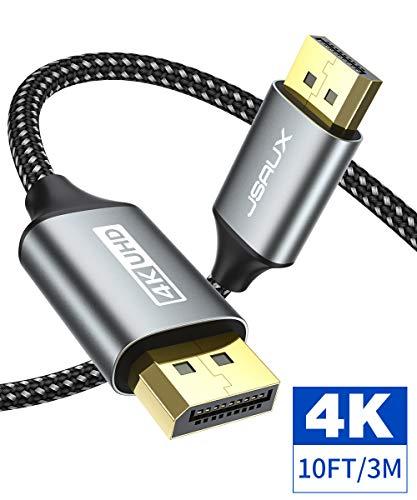 Cable DisplayPort 1.2 1080p-144hz 3mt JSAUX