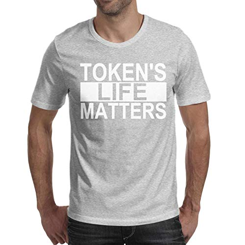 Man Token's-Life-Matters-Funny-from-South-Park- Cotton Blend Short Sleeve Tshirt