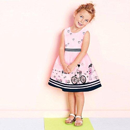 d71fc838ec6d Durable Modelando â ¤ï¸ Amlaiworld Falda niña Vestido de princesa de bebé Niñas  Vestido