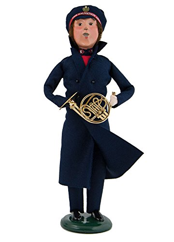 Byers Choice Christmas Figures (Byers' Choice Ltd. Salvation Army Man w/ French Horn)
