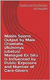 Motile Sperm Output by Male Cheetahs