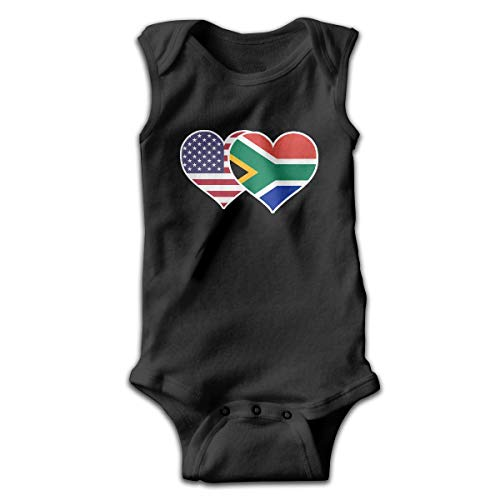Cheeper Eletina Ds Flamingo Romper 2t American South African Flag Heart Baby Newborn Iant Crawling Suit Sleeveless Romper Jumpsuit Rompersnurse Costume 12 18 - Ds Cape