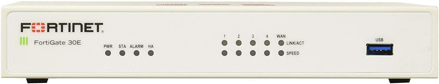 Fortinet FG-30E-BDL FortiGate Next Generation (NGFW) Firewall Appliance Bundle with 8x5 Forticare and FortiGuard