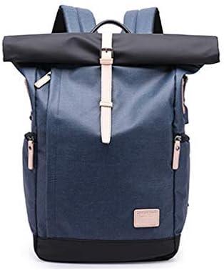 BAJIMI メンズカジュアルバックパック学生パケット多機能オックスフォードコンピューターパケット大容量バッグ (Color : #2)