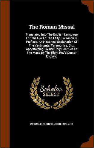 📙 Scarica gratuitamente il pdf del libro 2 The Roman Missal