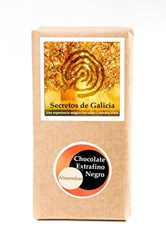 Tableta Chocolate Extrafino Negro 50% con Almendras