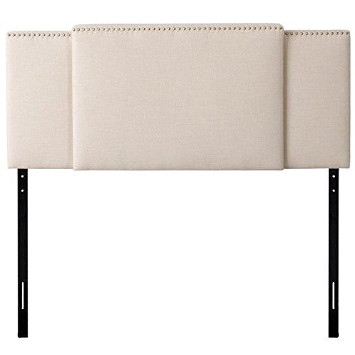 CorLiving BBT-970-A Fairfield Expandable Headboard, Cream