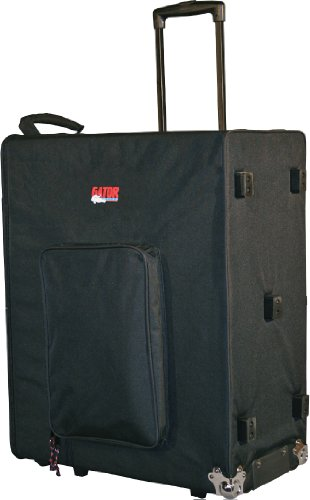 Gator Cases Lightweight Guitar Amplifier Case with Pull Handle and Wheels; Fits 2x12 Combo Amps  (G-212A)