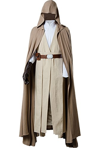 Cosplaysky Men's Halloween Costume Tunic Hooded Robe Outfit Ver.2 X-Large]()