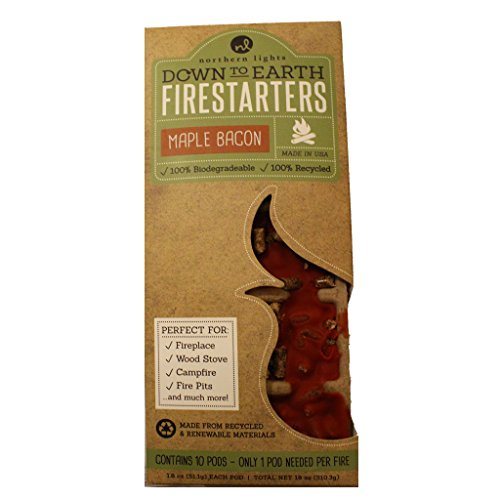 Northern Lights Candles Down to Earth 10 Pods Firestarters,