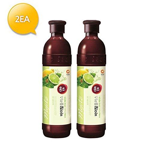 (NEW) Hongcho Vital plus Mojito lemon mint Vinegar Drink (Pack of 2)
