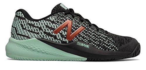 適格啓発するアレンジ(ニューバランス) New Balance 靴?シューズ レディーステニス 996v3 Black with Seafoam ブラック シーフォーム US 9 (26cm)