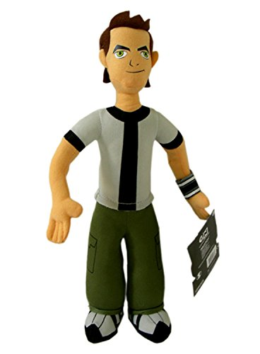 13 Inch Ben 10 Alien Force Plush Doll (Cartoon Network Games Ben Ten Alien Force)